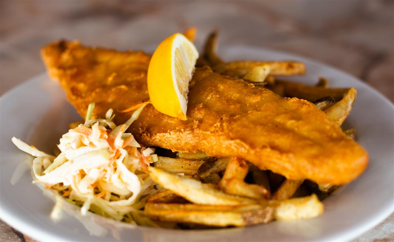 Thursday's Feature: Buy 1 Haddock and Chips get Second ½ Price