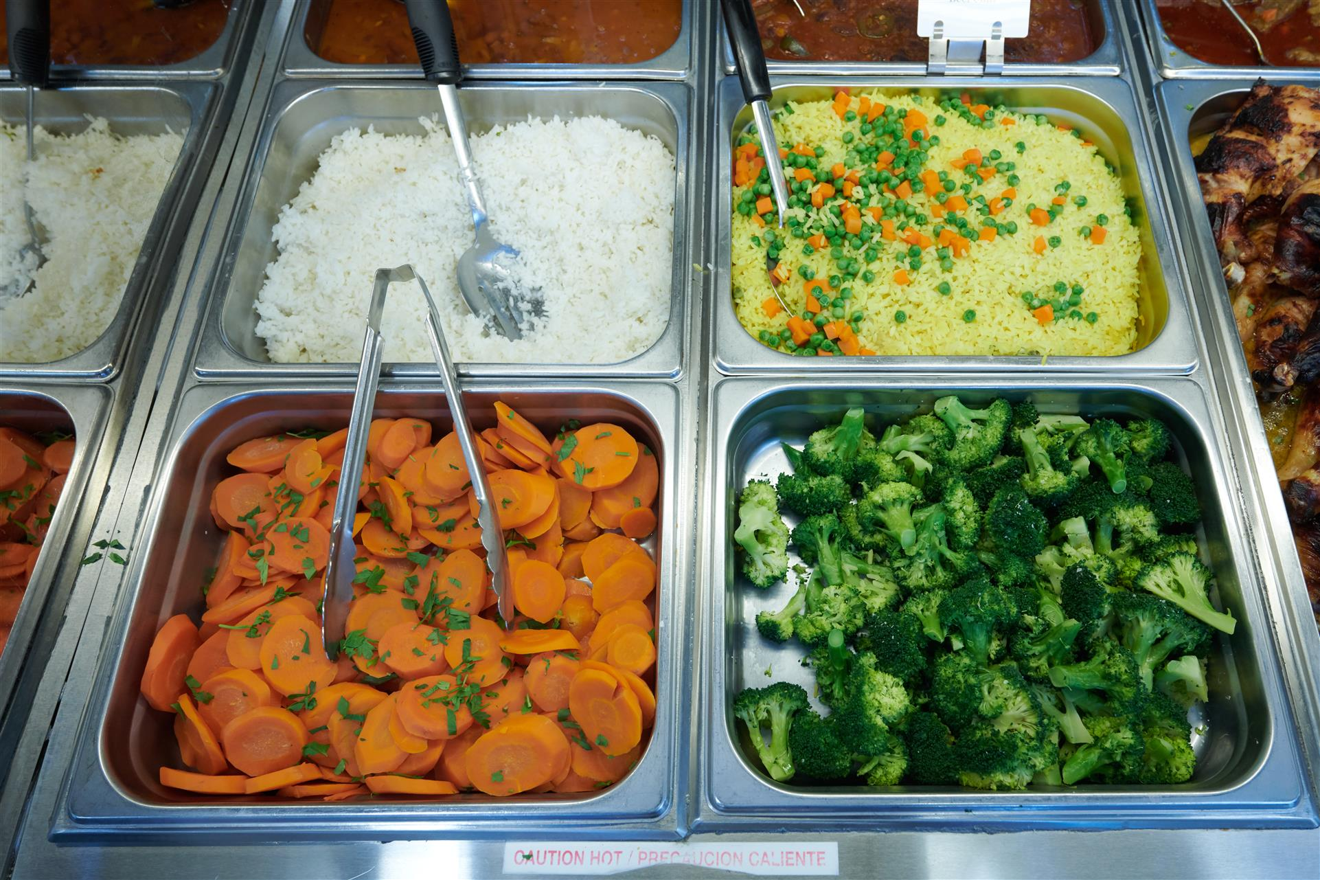 assortment of vegetables in trays