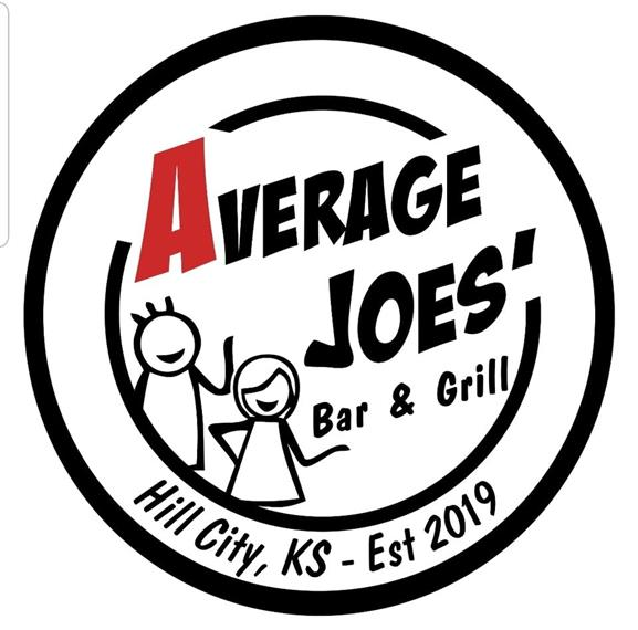 Average Joe's Bar & Grill Hill City, KS- Est 2019