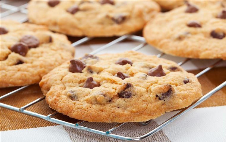 assortment of chocolate chip cookies