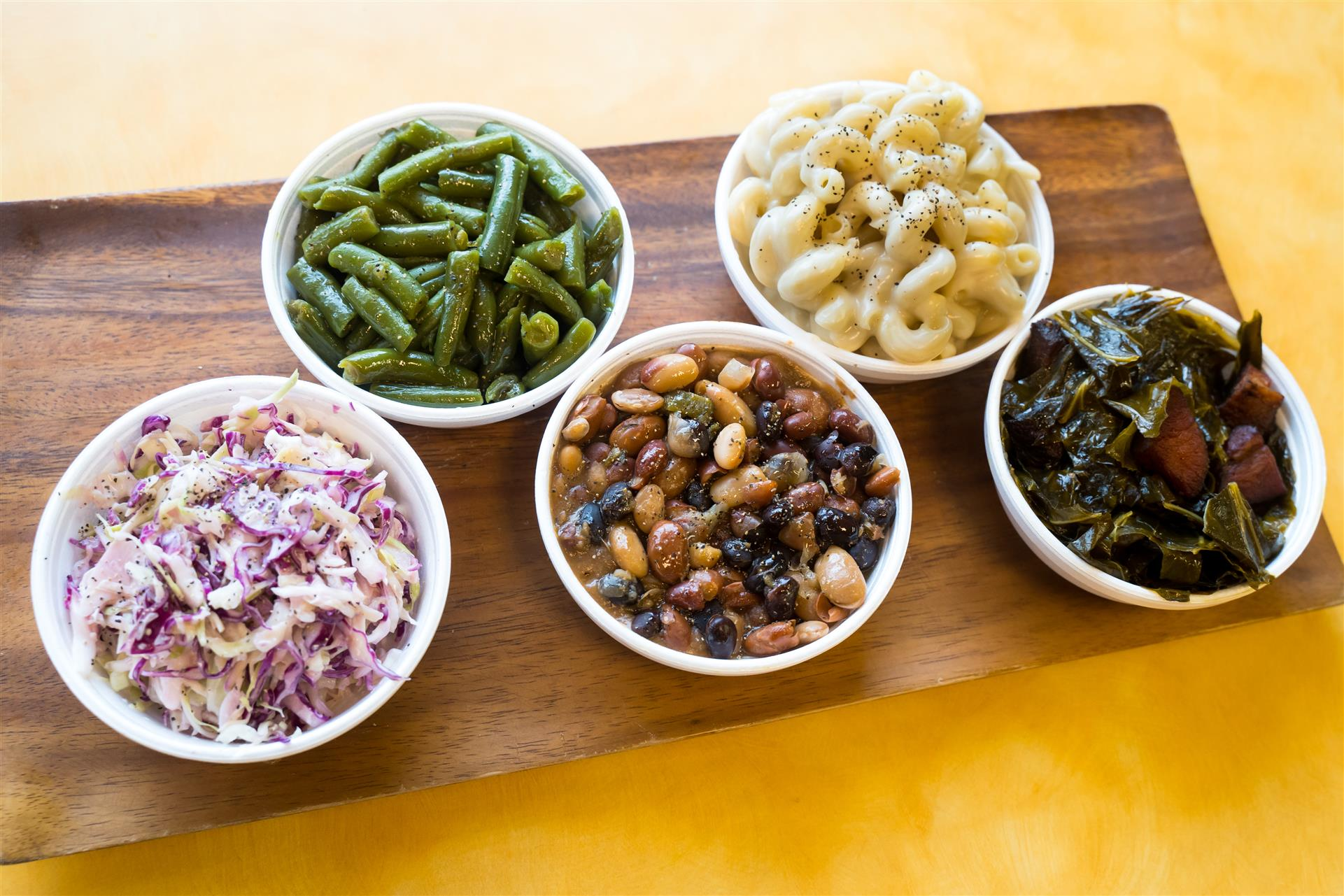 assortment of side dishes
