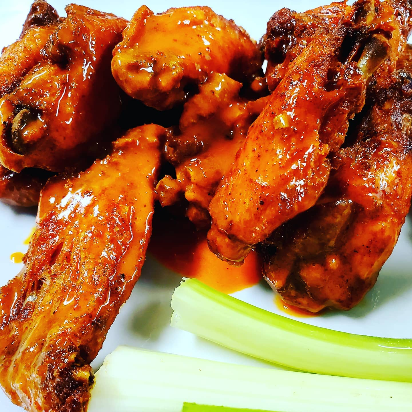 assortment of chicken wings