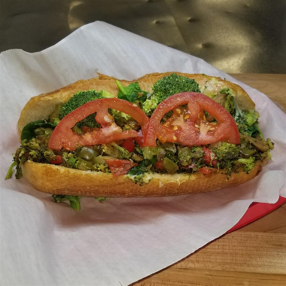 #7 Veggie Cheesesteak