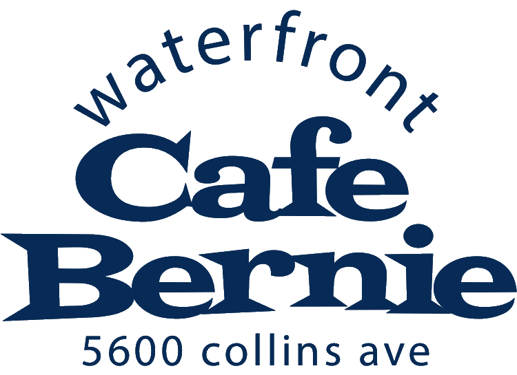Waterfront Cafe Bernie 5600 collins ave