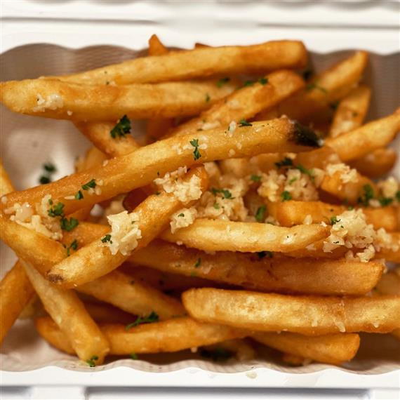 assortment of french fries