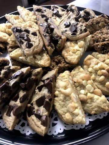 Fresh Baked Cookie Tray