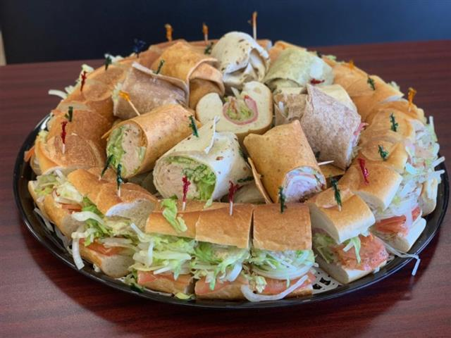 Hoagie and wrap tray