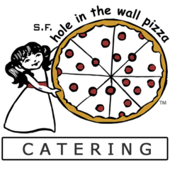 s.f. hole in the wall pizza catering