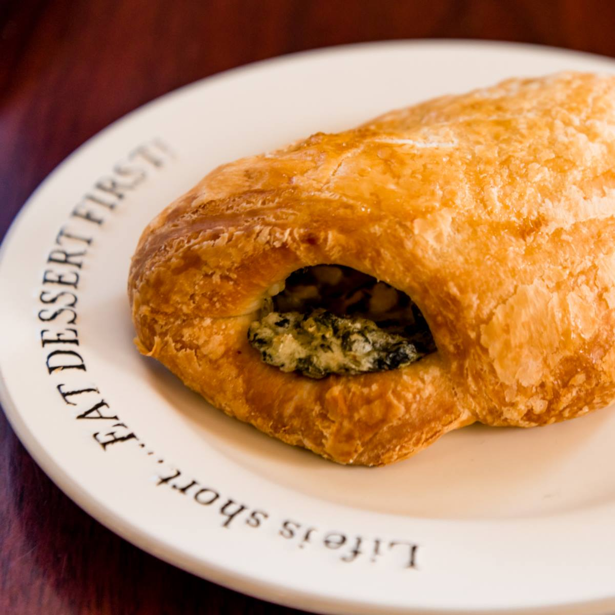 Santa Fe Croissant with Green Chili, Sausage, Pepper-Jack