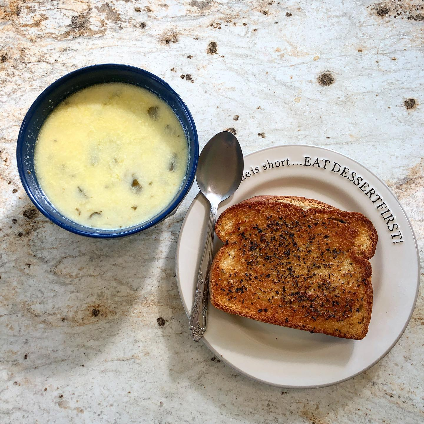 kickin' pepper-jack and broccoli soup with grilled cheese