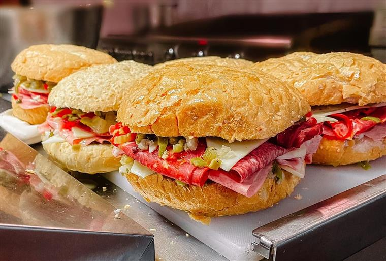 assorted sandwiches on a plate