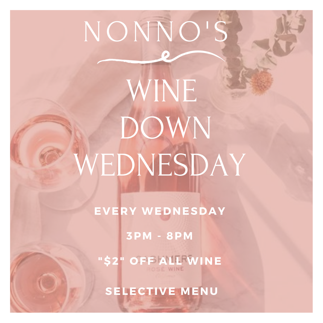 Come by to Nonno's every Wednesday, kick back, relax and enjoy our selection of delicious wines at $2 off accompanied by a selective Nonno's menu. . The cravings got you? Nonno's has you covered for delicious and authentic Cajun Cuisine and Fresh Homemade Pastries. . Nonnos Cajun Cuisine and Pastries is located on 2025 North Claiborne Avenue, New Orleans. We offer catering and serve breakfast all-day. . Food so good you can almost taste the love. This is Nonno's promise to you 💥