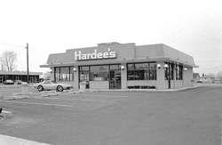outdoor view of Hardee's Restaurant