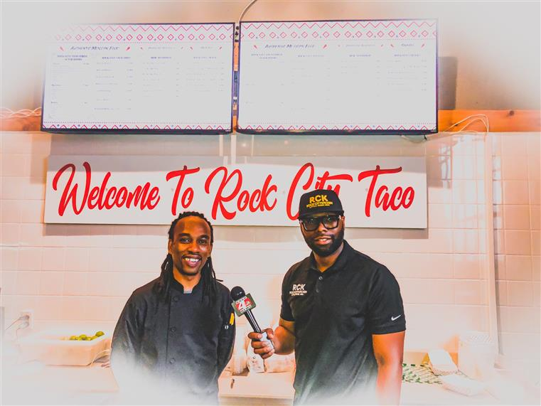 chef and owner of Rock City Taco