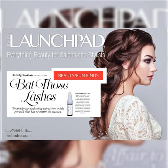 Launchpad | Everything Beauty for Salons & Stylists | Article containing information about the Lashe eyelash extension adhesive