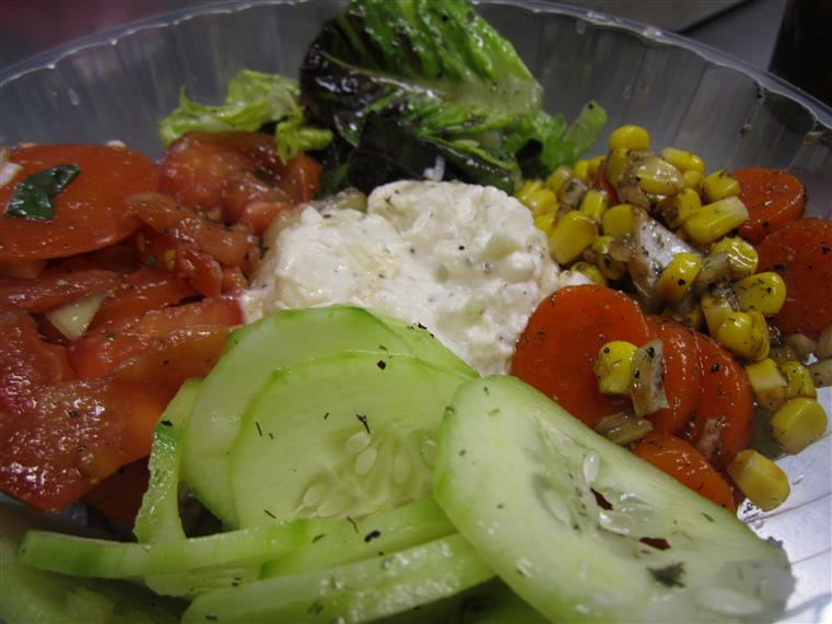 salad medley with various toppings