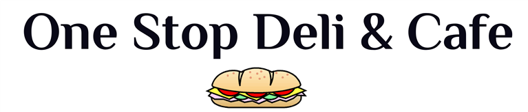 One Stop Deli & Cafe