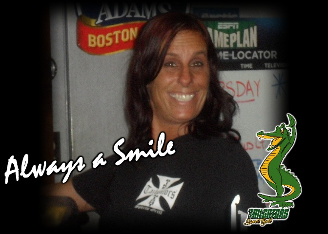 """""""always a smile"""" guest smiling"""