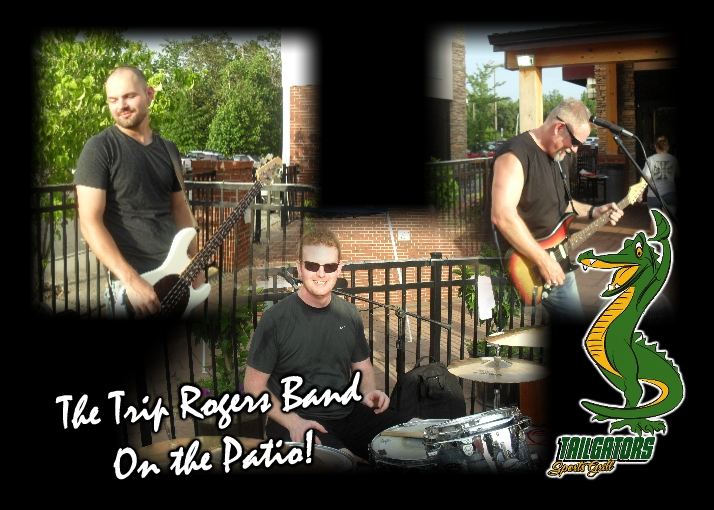 The Trip Rogers Band on the Patio