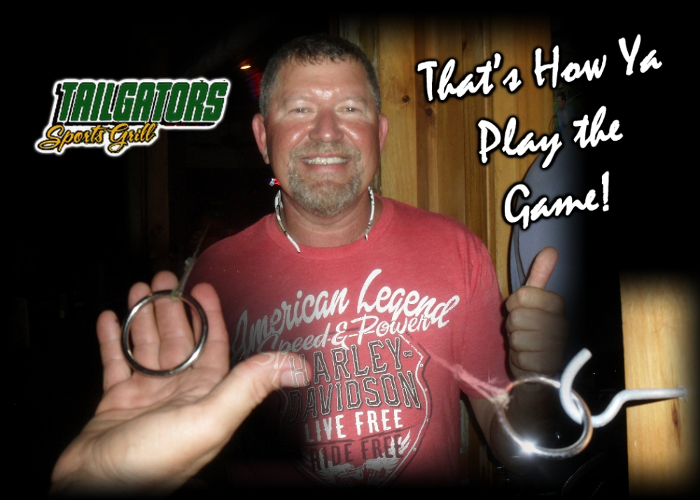 """""""thats how you play the game"""" guest with rings and keys game"""