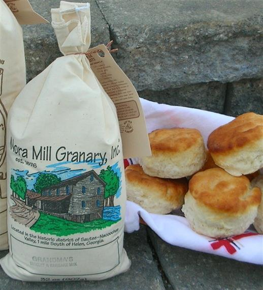 nora mill granary flour for biscuits