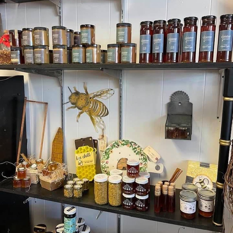 homemade honey and other products
