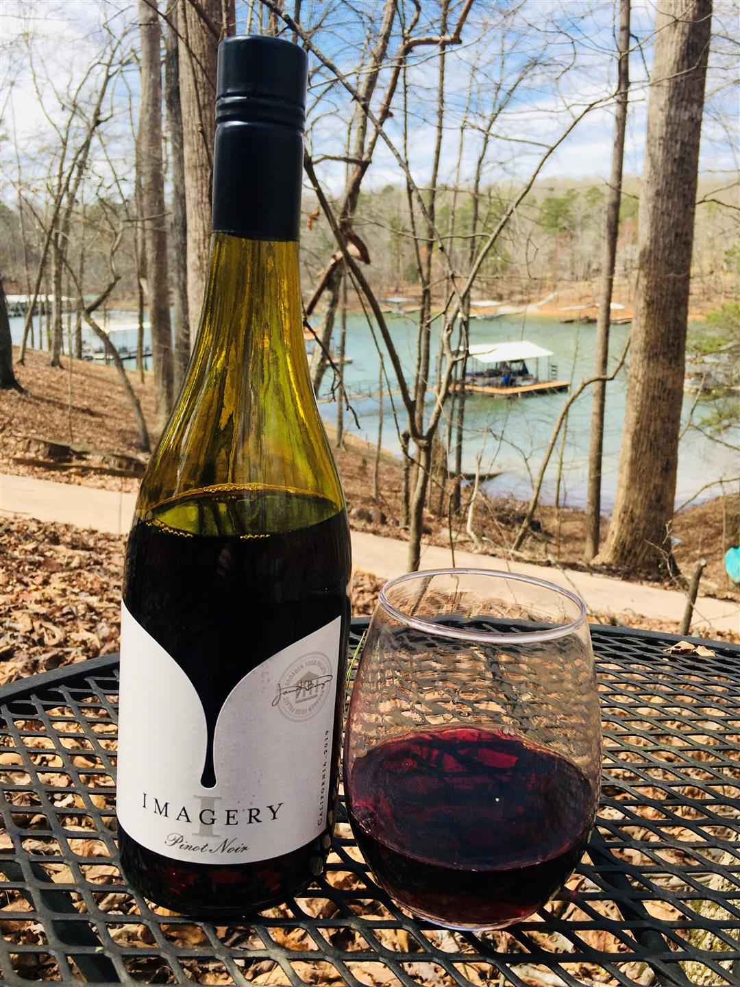 local wine on the lake