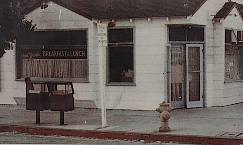 old photo of the business