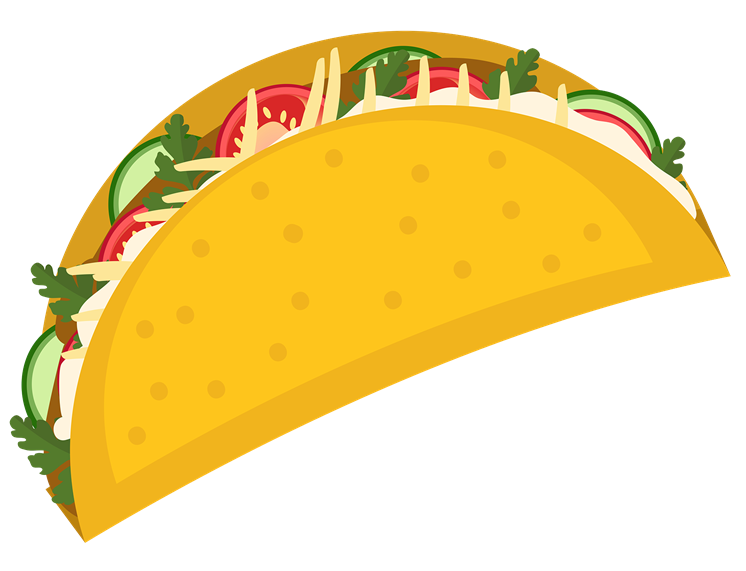 three dimensional drawing of a Taco