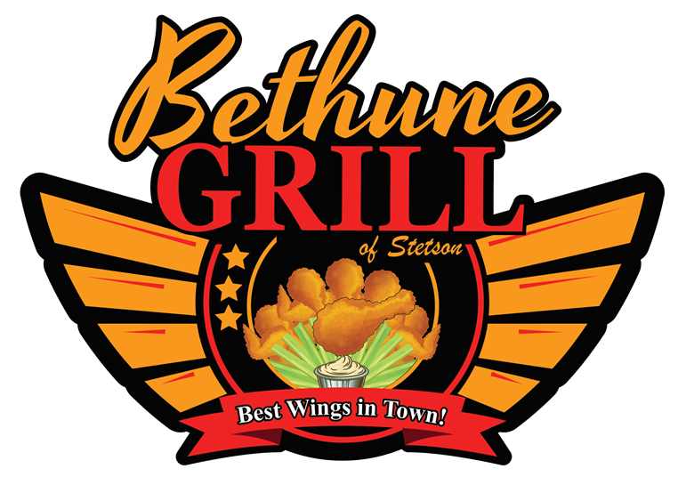 Bethune Grill of Stetson Best Wings in Town