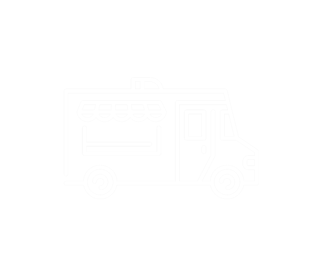 three dimensional drawing of a food truck