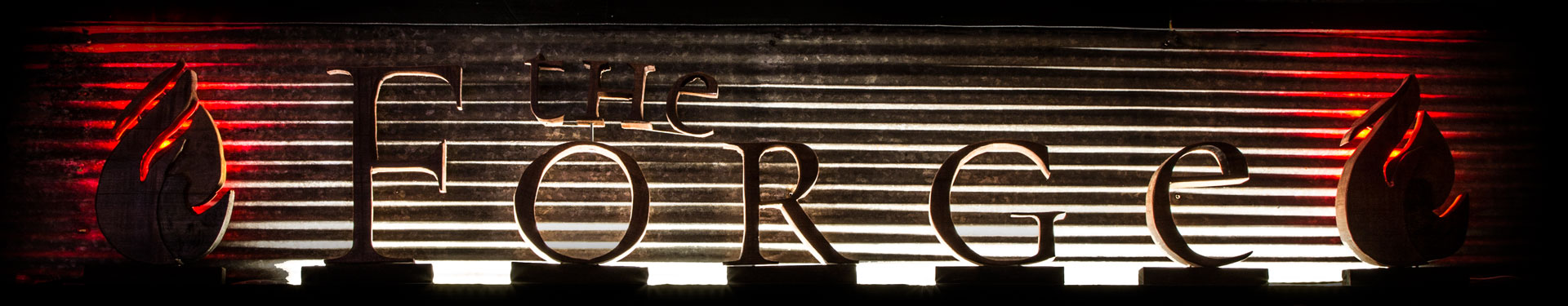 The Forge sign