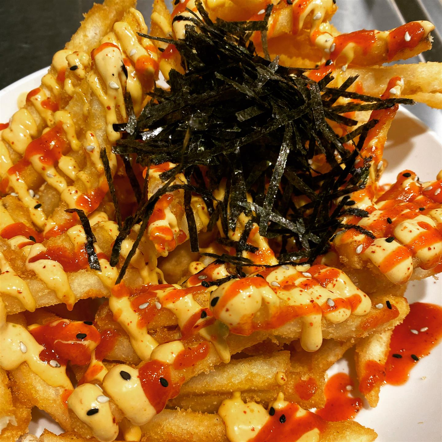 Spicy Asian Fries