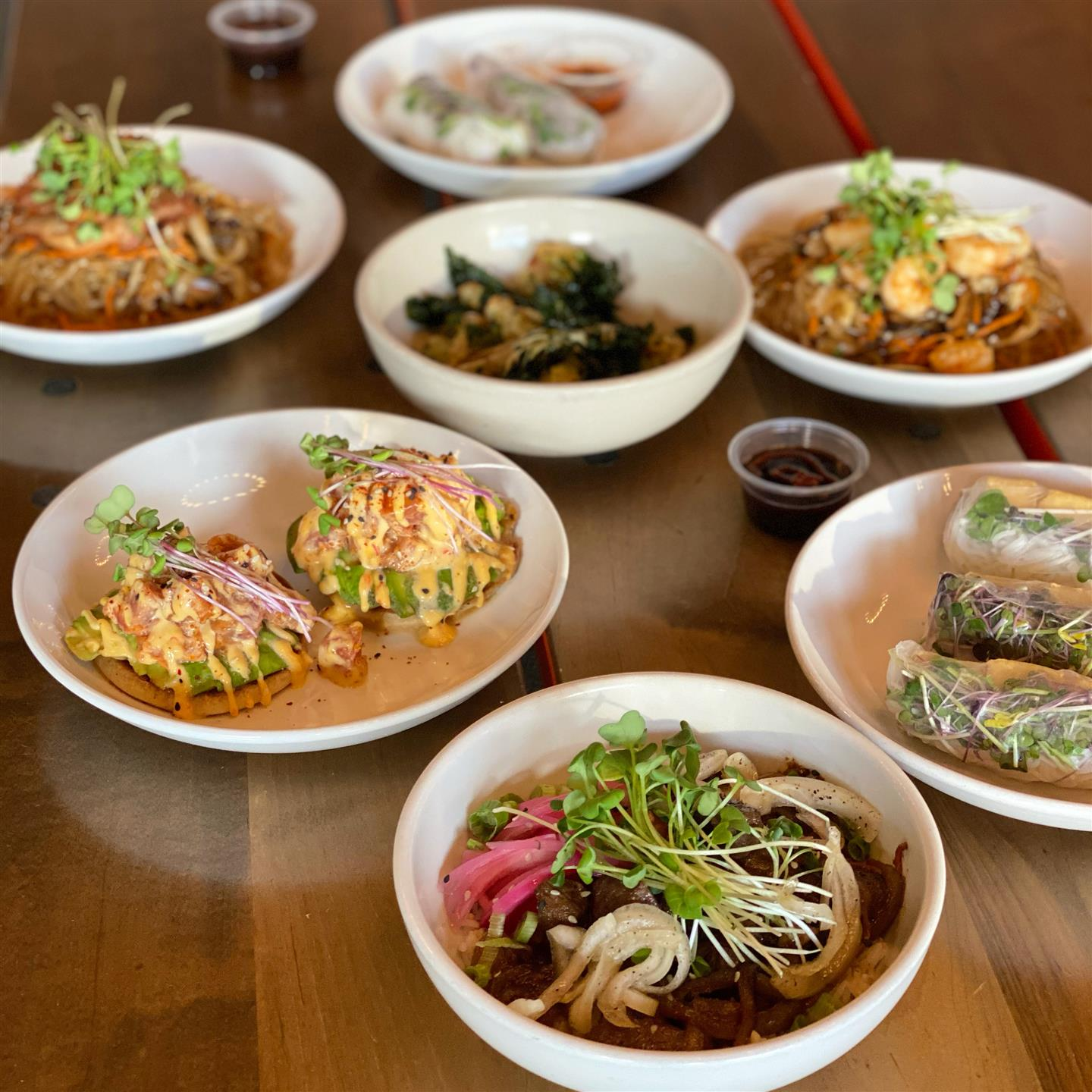 A Variety of Dishes