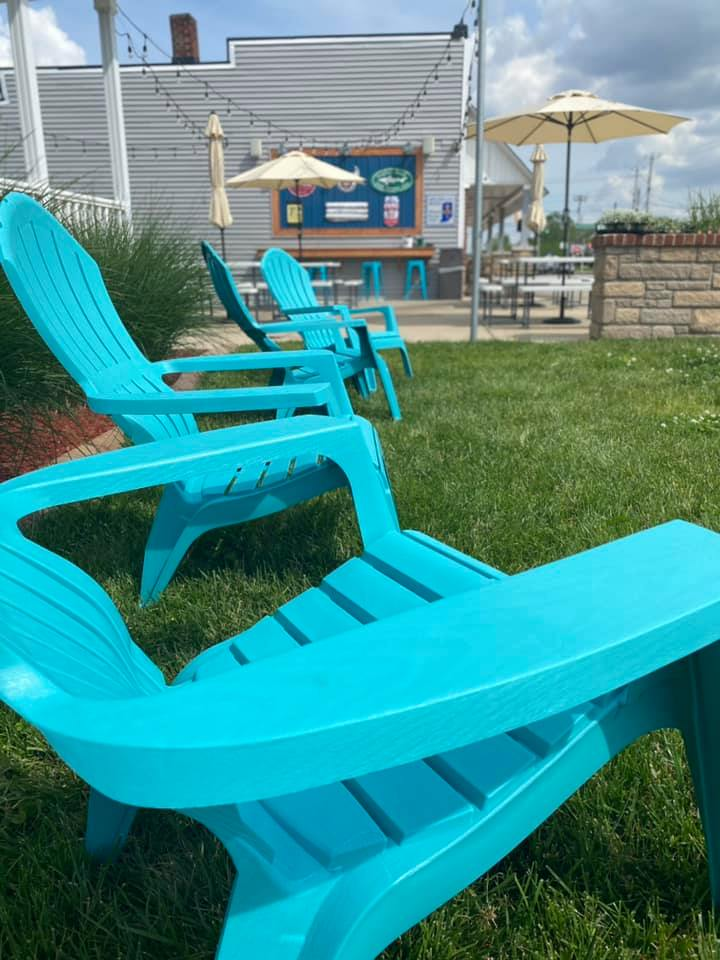 lawn chairs by New Bethel Ordinary