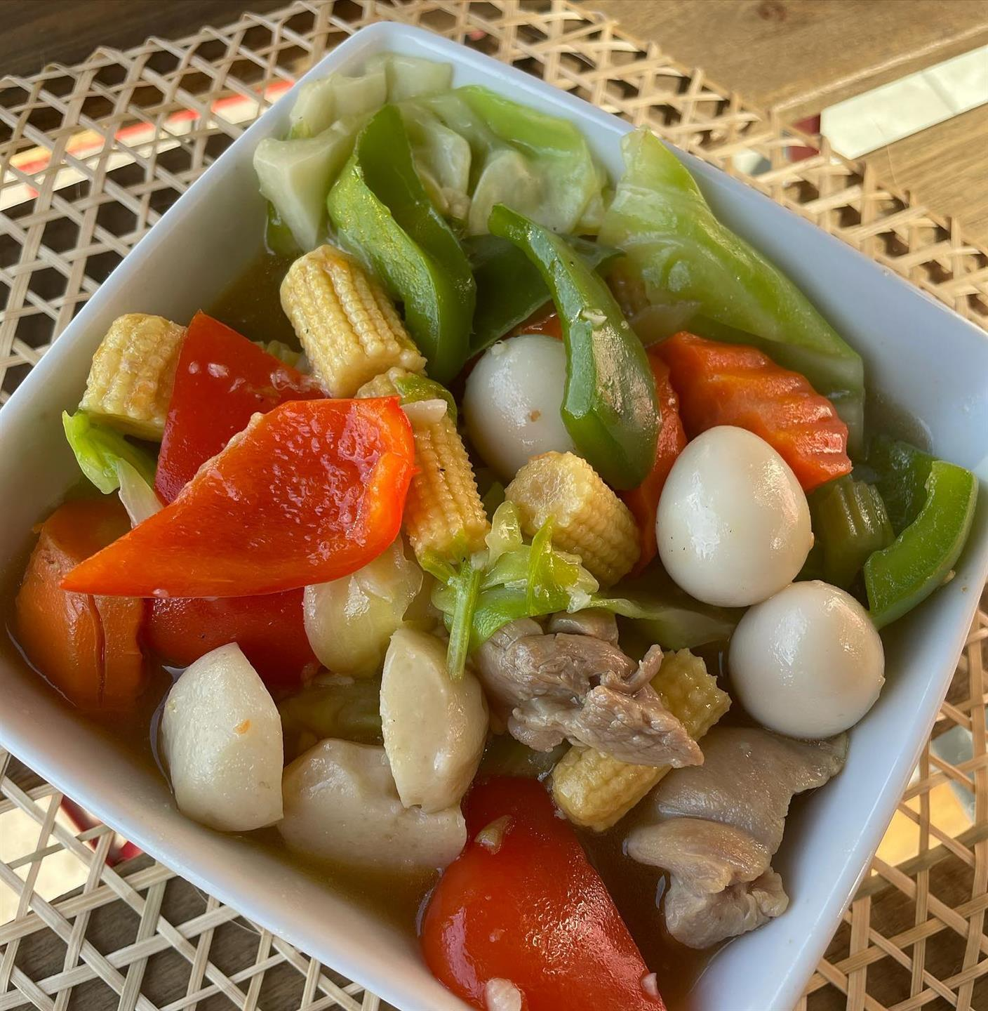 bowl of mixed vegetables