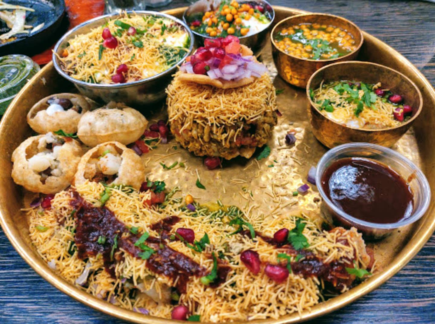 assortment of food items in a large bowl