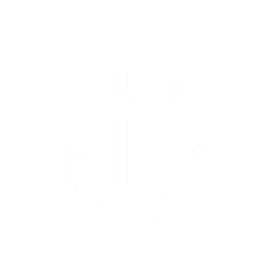 three dimensional drawing of a fish and anchor