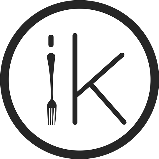 "innovo kitchen ""IK"" mini logo graphic"