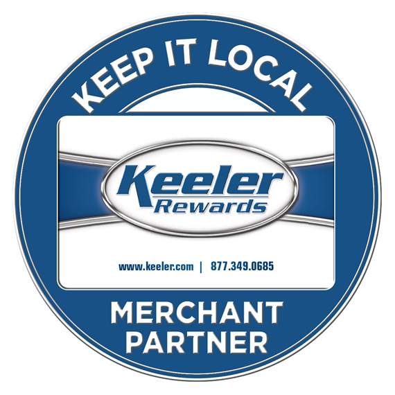 Keep it local keeler rewards merchant partner
