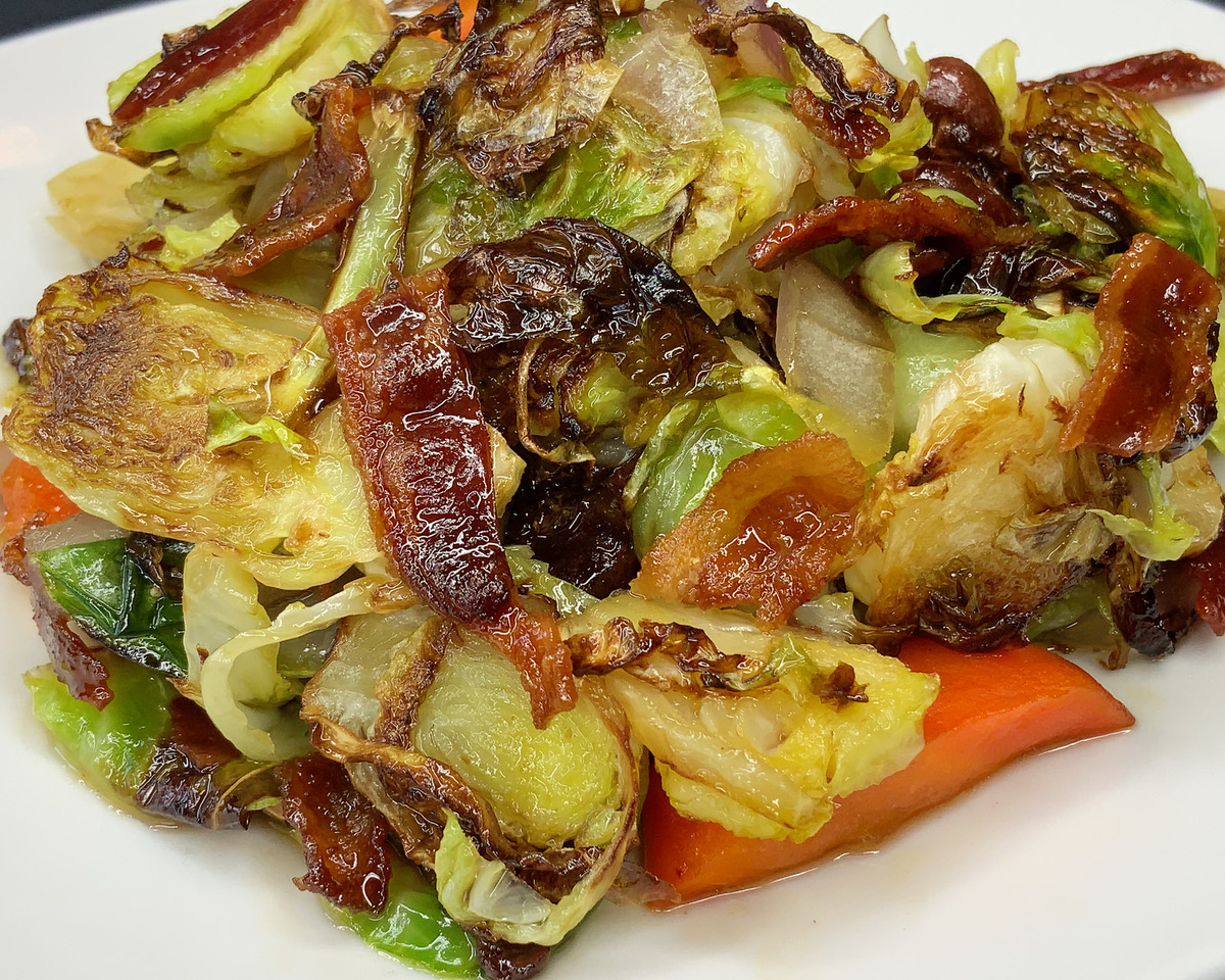 brussels sprouts with mixed vegetables