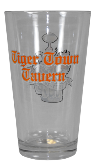 TTT Pint Glass Back