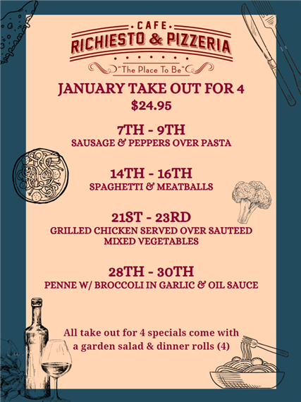 January take out