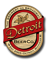 Detroit Beer Company. The brewery on broadway. Established 2003, detroit michigan