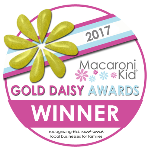 2017 macaroni kid gold daisy awards winner recognizing the most loved local businesses for families