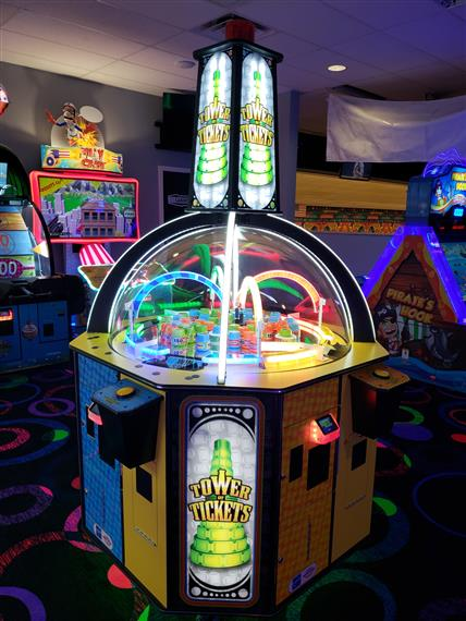 Tower Tickets Arcade game