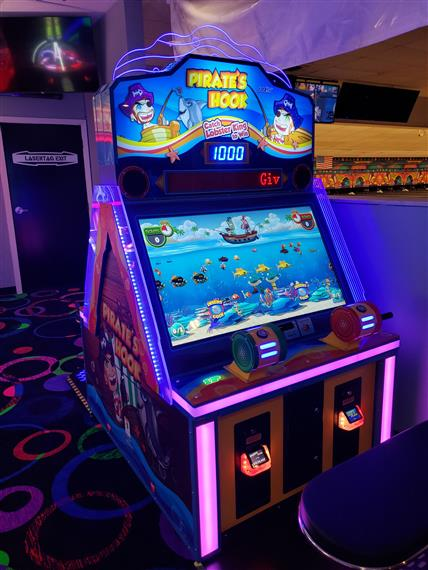 Pirate's Hook Arcade Game