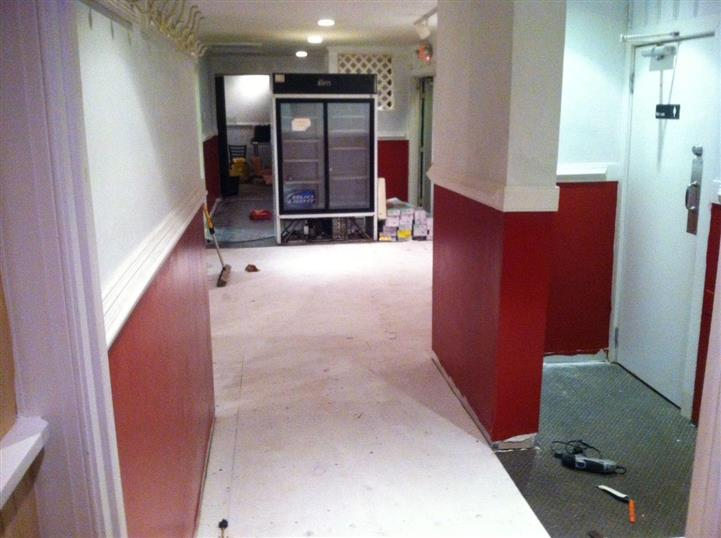 Room being built