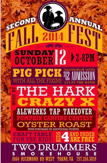 Fall Fest 2014 promotion