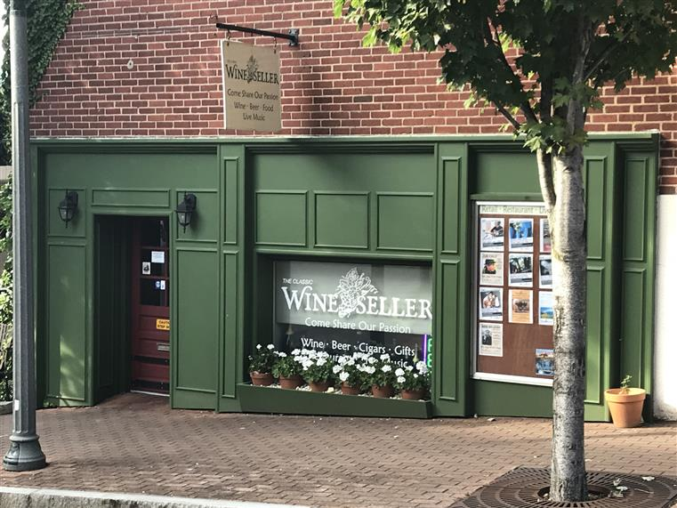 Wine Seller Store Front
